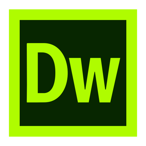 Adobe, Dreamweaver, Cc, Creative, Cloud Icon Free Of Adobe