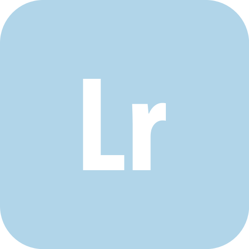Adobe, Lightroom, Rounded Icon