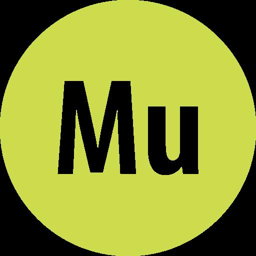 Adobe, Muse, Round Icon