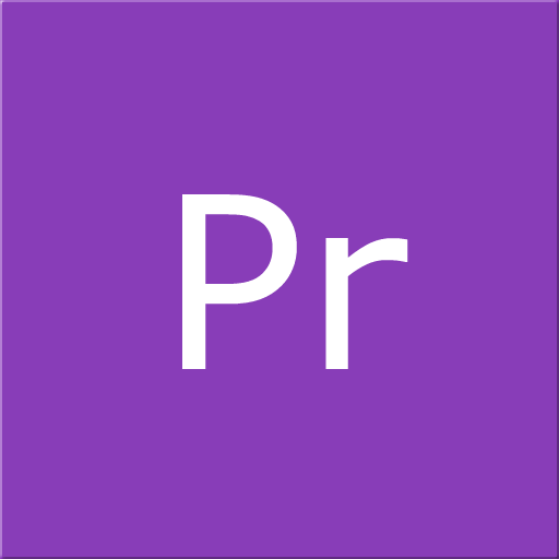Adobe, Cc, Cs, Premiere Icon