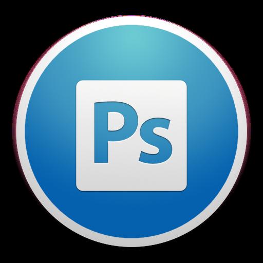Adobe Photoshop Icon Custom Round Yosemite Iconset Paulo Ruberto