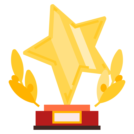 Trophy, Premium Icon Free Of Colorful