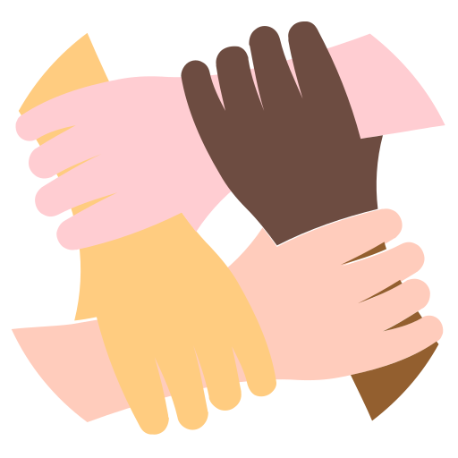 Teamwork, Hands, Team, Group Icon Free Of Colorful