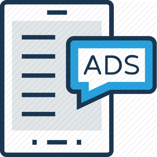 Ads, Advert, Advertisement, Commercial, Paper Icon