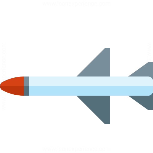 Iconexperience G Collection Missile Icon