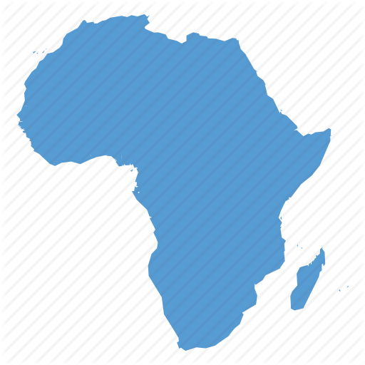 Africa, African, Continent, Location, Map, Navigation Icon