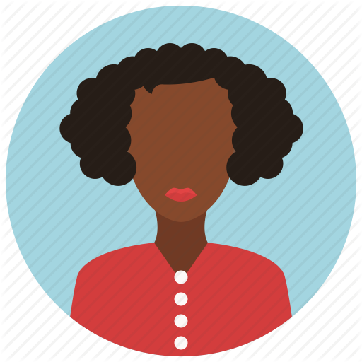 African, American, Avatar, People, User, Woman Icon