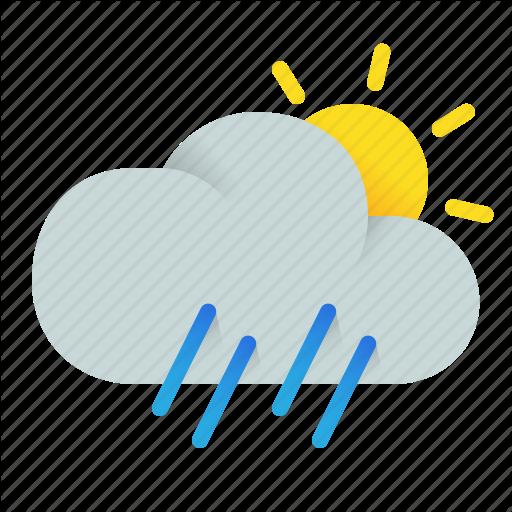 Afternoon, Cloud, Element, Precipitation, Rain, Rainfall, Weather Icon
