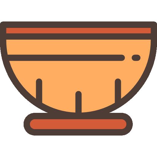 Bowl, Primitive, Bone, Prehistoric, Stone Age Icon