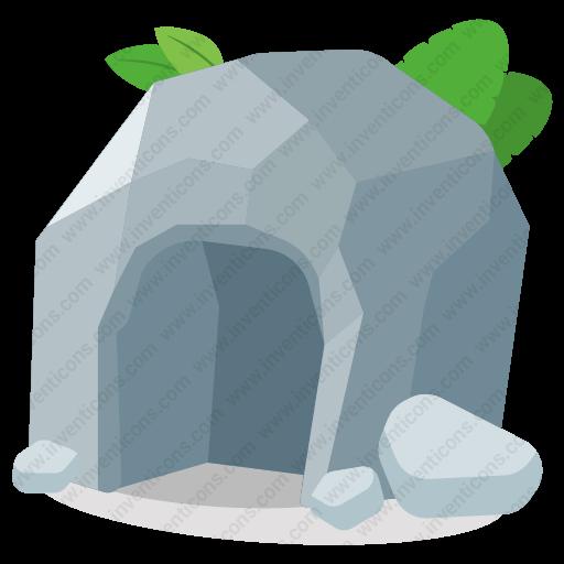 Download Cave Icon Inventicons