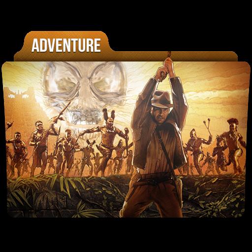 Adventure Icon Movie Genres Folder Iconset Limav