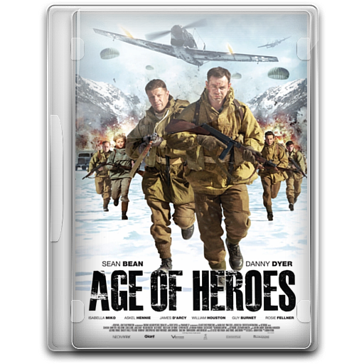 Age Of Heroes Icon English Movie Iconset Danzakuduro