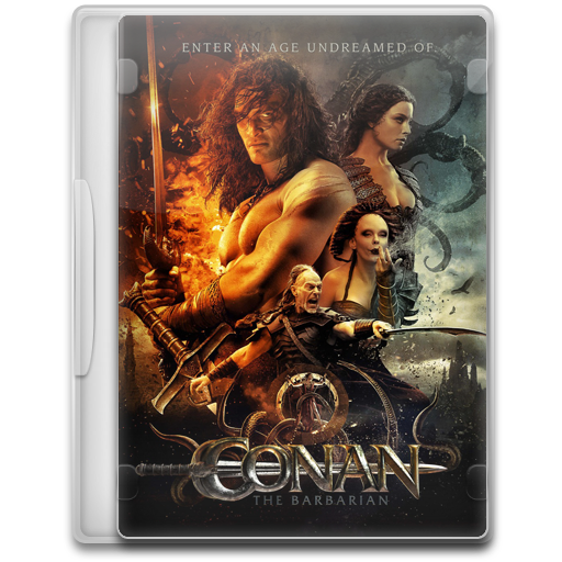 Conan The Barbarian Icon Movie Mega Pack Iconset
