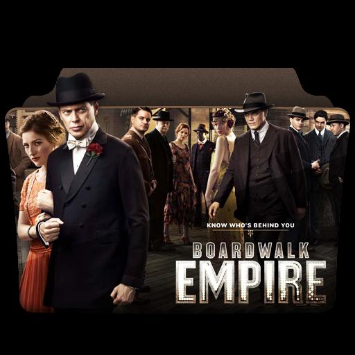 Boardwalk Empire Icon Tv Series Folder Pack Iconset