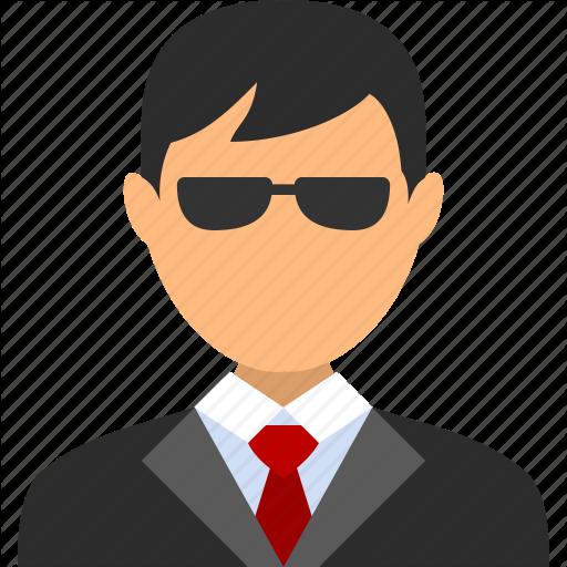 Account, Agent, Boy, Businessman, Man, Spy, User Icon