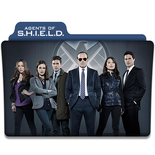 Agents Of S H I E L D Tv Series Folder Icon