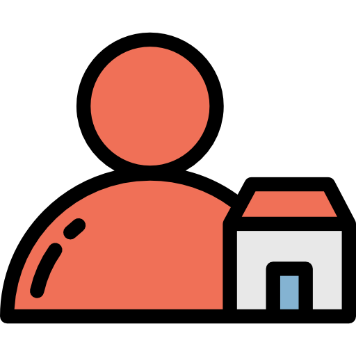 Home, House, People, Agent, Seller, Real Estate Icon