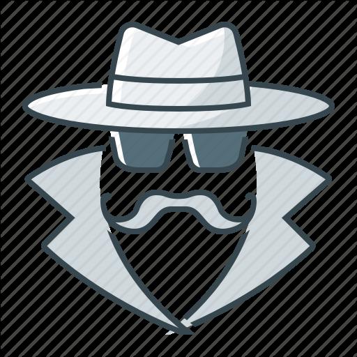 Agent, Anonymity, Anonymous, Secret Agent Icon