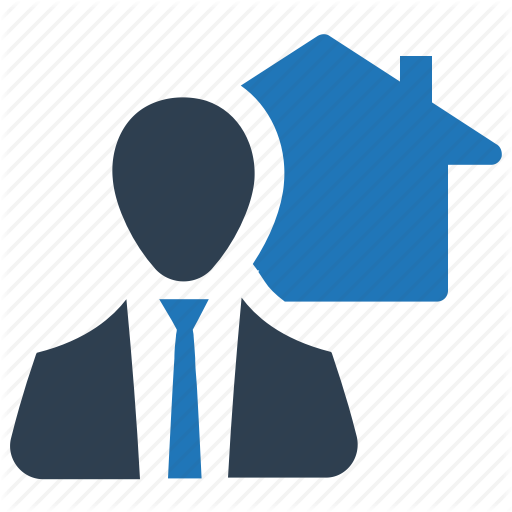Agent, Business, Businessman, Home, House, Loan, Real Estate Icon