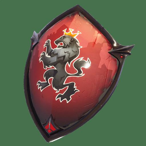 Red Shield Back Bling Backpacks