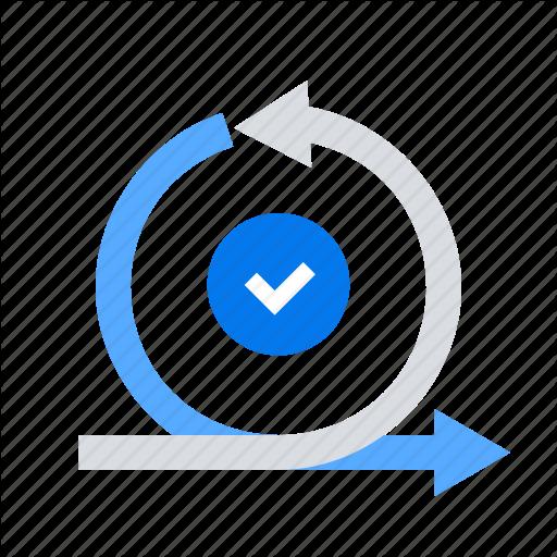 Agile, Iteration, Scrum, Sprint Icon