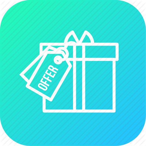 Award, Festival, Gift, Label, Offer, Prize, Surprize Icon