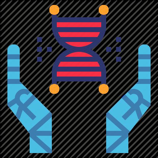 Aging, Dna, Healthcare, Medical, Robot, Society Icon