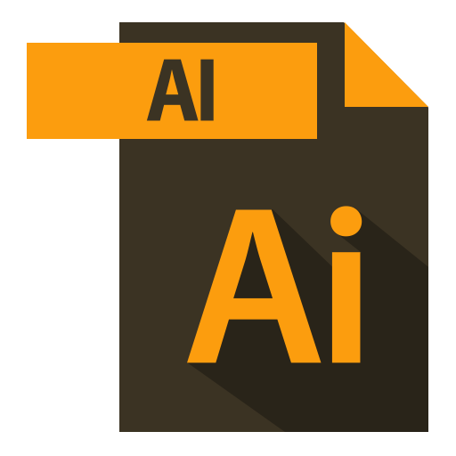 Adobe, Extention, Extention, Format Icon