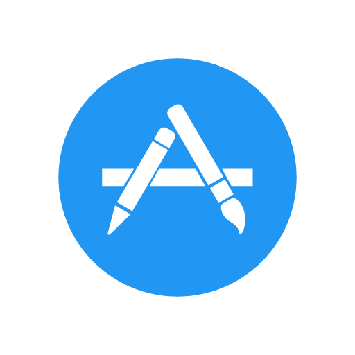Apple App Store Vector Logo