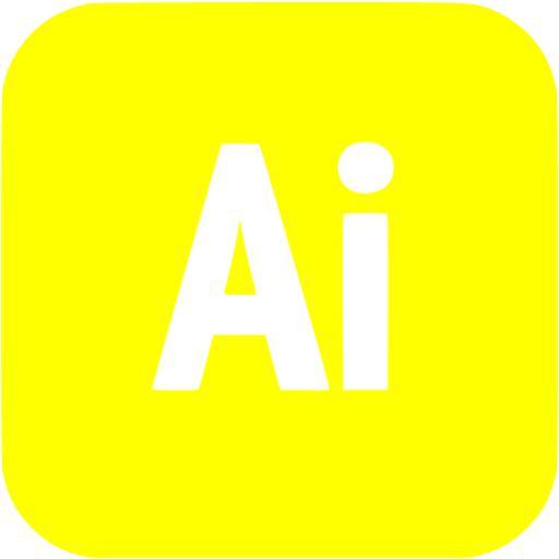 Yellow Adobe Icon