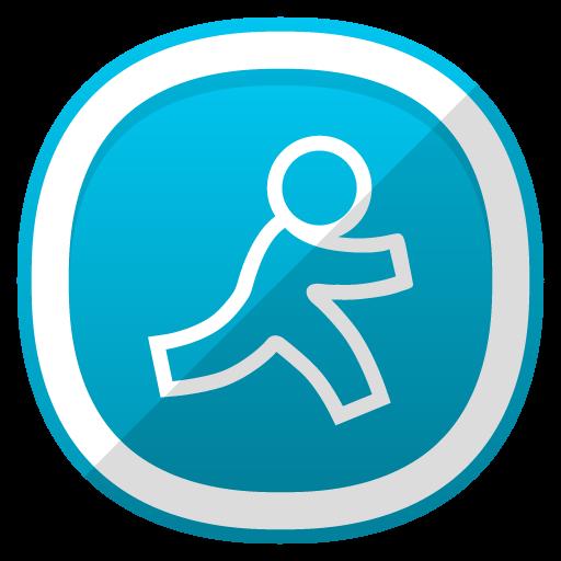 Aim Icon Free Cute Shaded Social Iconset Designbolts