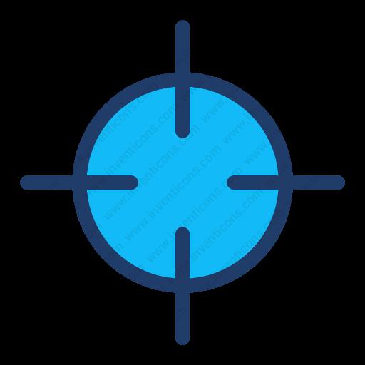 Download Aim,goal,sniper,target Icon Inventicons