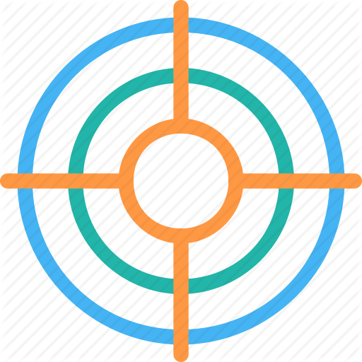 Goal, See, Target Icon, Aim Icon