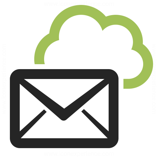 Mail Cloud Icon Iconexperience