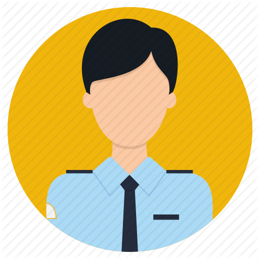 Airforce, Airoplane, Captain, Pilot, Professions Icon