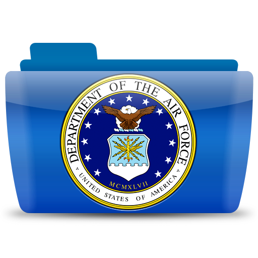 Us Air Force Seal, Folder, Icon Free Of Colorflow Icons