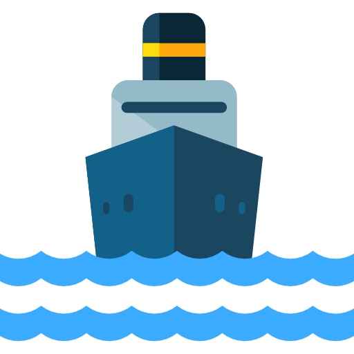 Cargo Ship, Shipping And Delivery, Shipping, Navigation