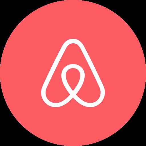 Circle, Travel, Airbnb, Round Icon Icon