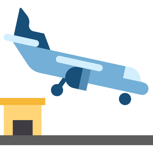 Arrival Plane Png Icon
