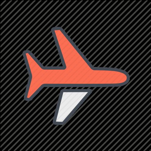 Aeroplane, Aircraft, Airplane, Airport, Flight, Fly, Plane Icon