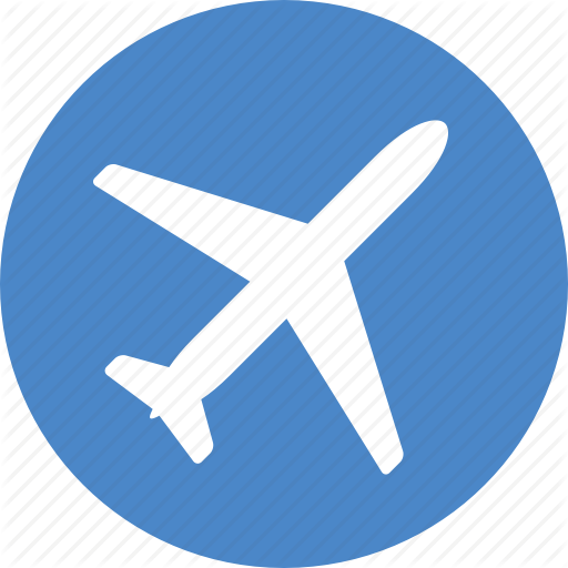 Airplane, Blue, Text, Transparent Png Image Clipart Free Download