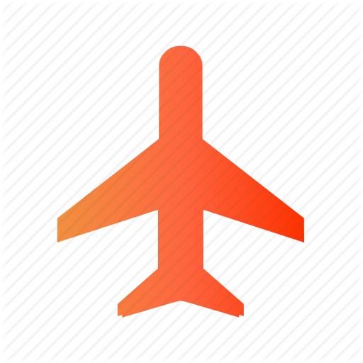 Airplane, Airport, Areoplane, Flight, Plane Icon