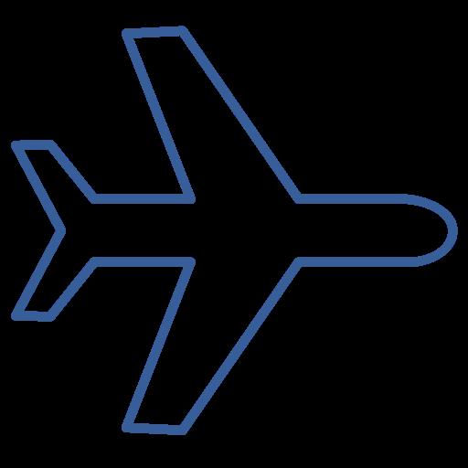 Way, Transportation, Plane, One, Flight, Airplane, Journey Icon