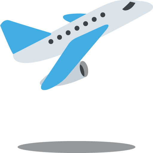 Airplane Departure Emoji For Facebook, Email Sms Id