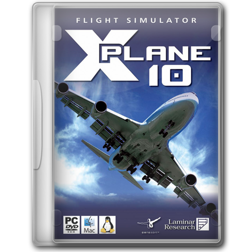 X Plane Icon Game Cover