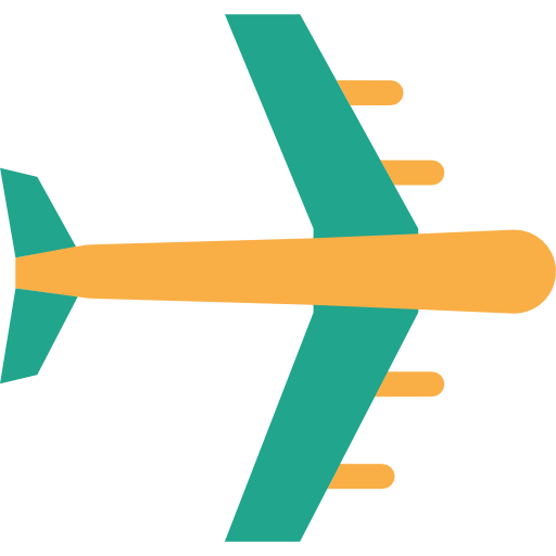 Airplane Icon Summertime Collection Freepik
