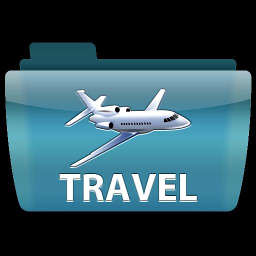 Travel, Airplane, Folder, Icon Free Of Colorflow Icons