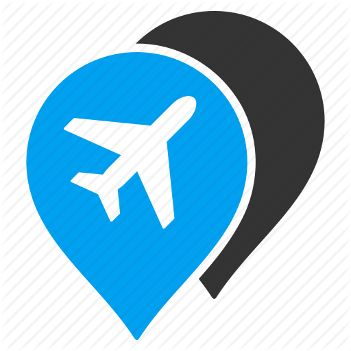 Airport, Airports, Aviation, Location, Map Markers, Navigation