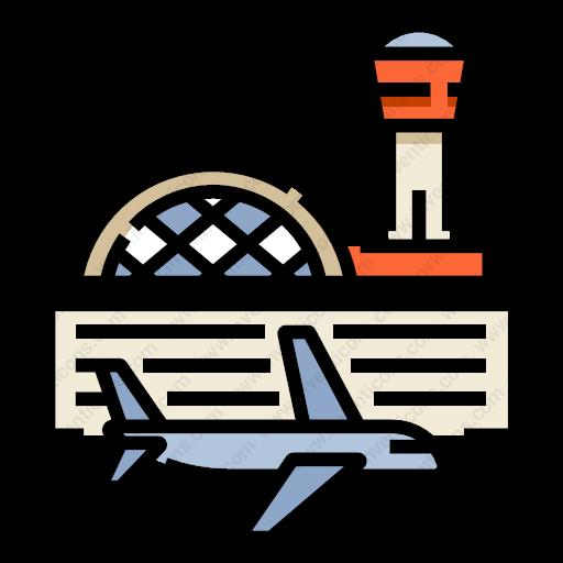 Download Airport Icon Inventicons