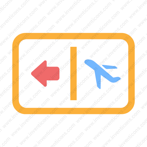 Download Gate,airport Icon Inventicons